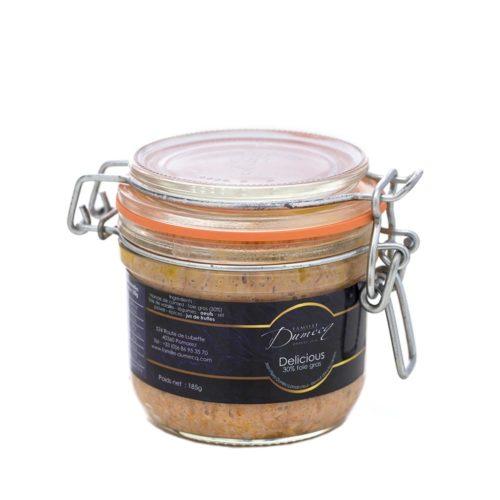 Delicious canard des landes et 30% de foie gras de canard des Landes - Famille Dumecq