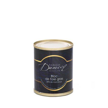 Bloc de foie gras de canard des Landes - Famille Dumecq